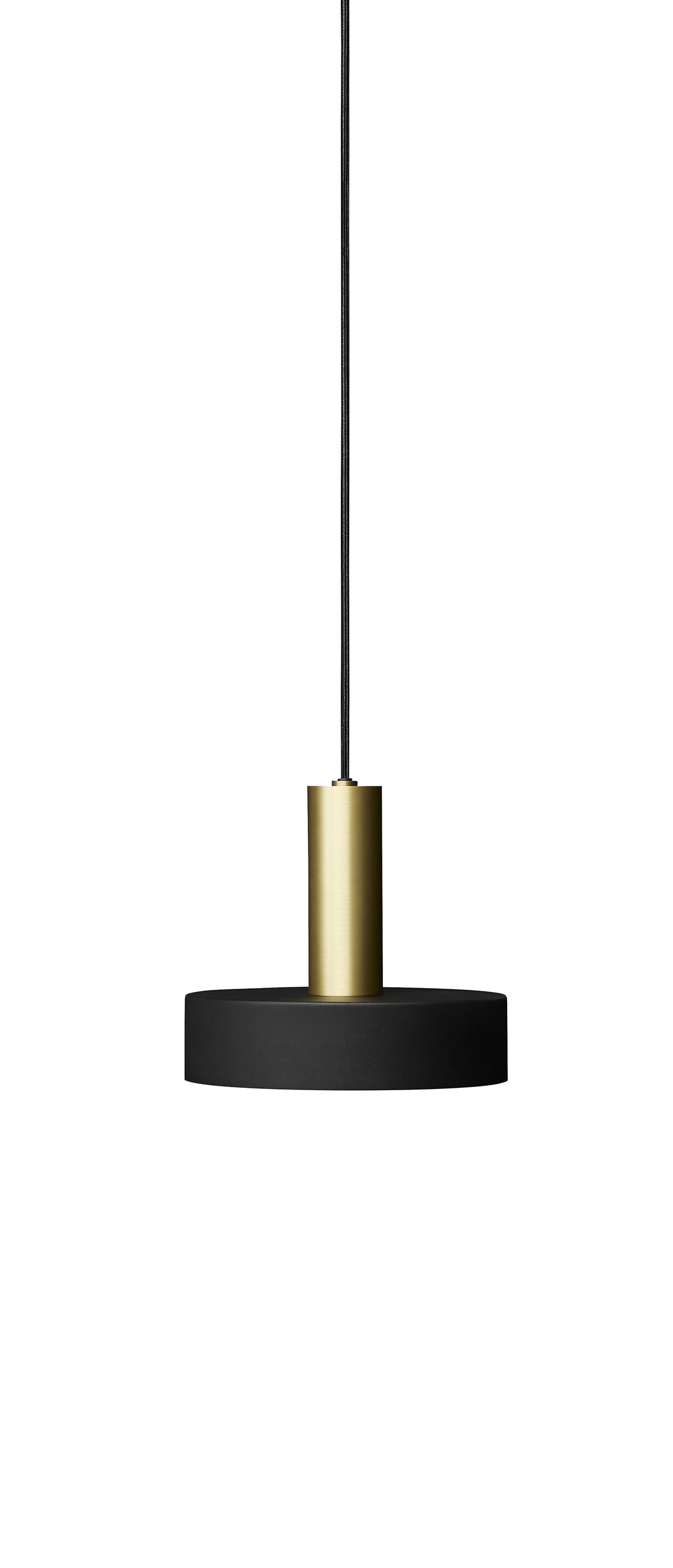 Lustra SL01 O25 cm H225 cm Black / Brass