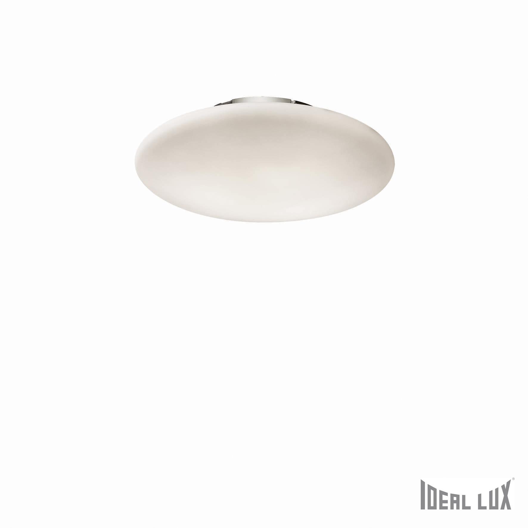 Plafoniera Smarties Bianco PL2 D40