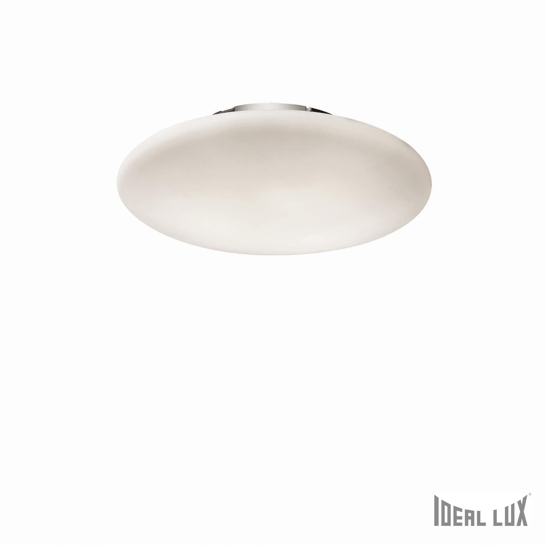 Plafoniera Smarties Bianco PL3 D50