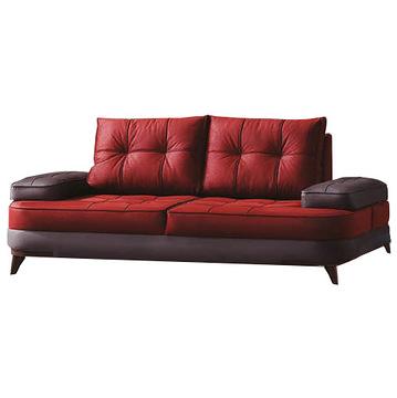 Canapea Fixa 3 Locuri Soho Red