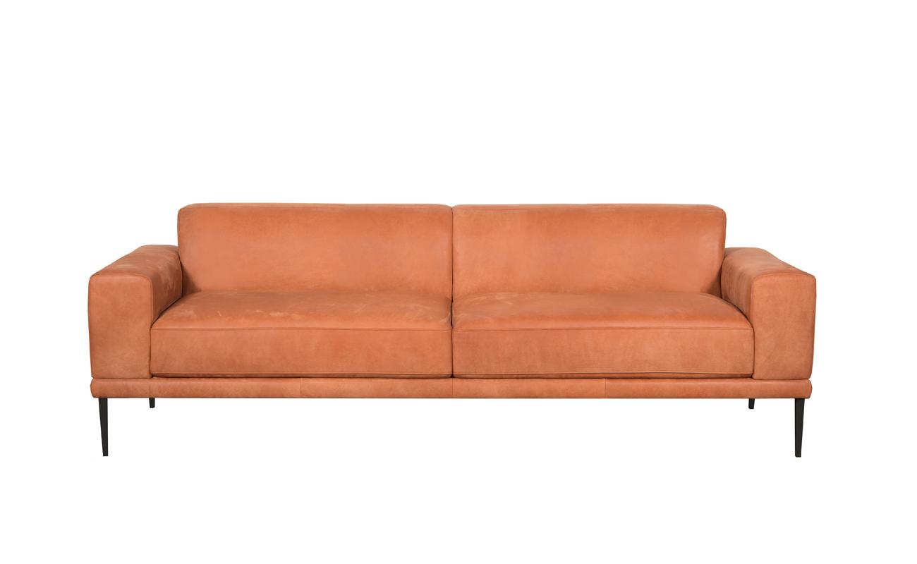 Canapea fixa 3 locuri Sophia Orange