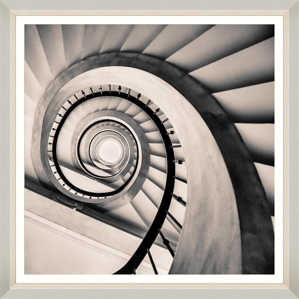 Tablou Framed Art Spiral Staircase IV