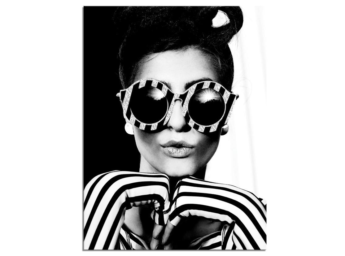 Tablou Canvas Glam Glasses I 60x80 cm