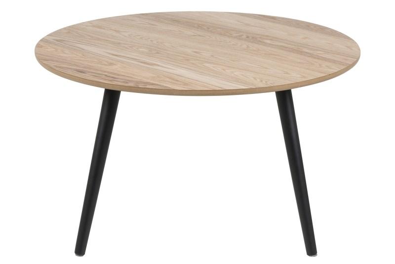 Masa de cafea din lemn Stafford O80xh45 cm