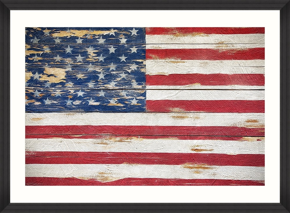Tablou Framed Art Stars And Stripes