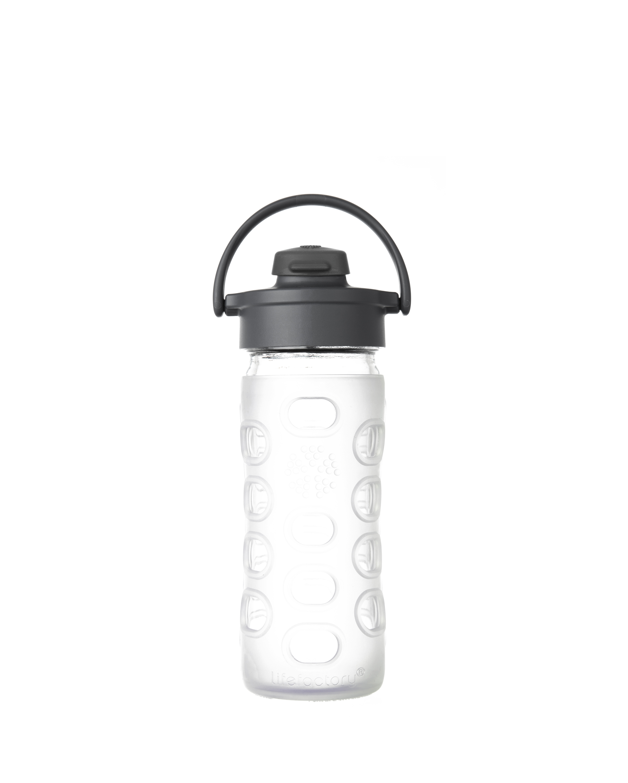 Sticla pentru apa LifeFactory, Transparent, 350 ml
