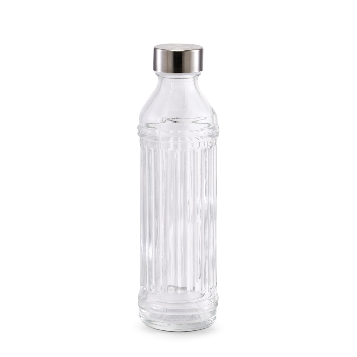 Sticla pentru apa Visual Transparent, 500 ml, Ø7xH24 cm imagine