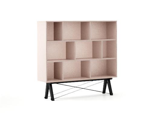 Biblioteca Low Dusty Pink