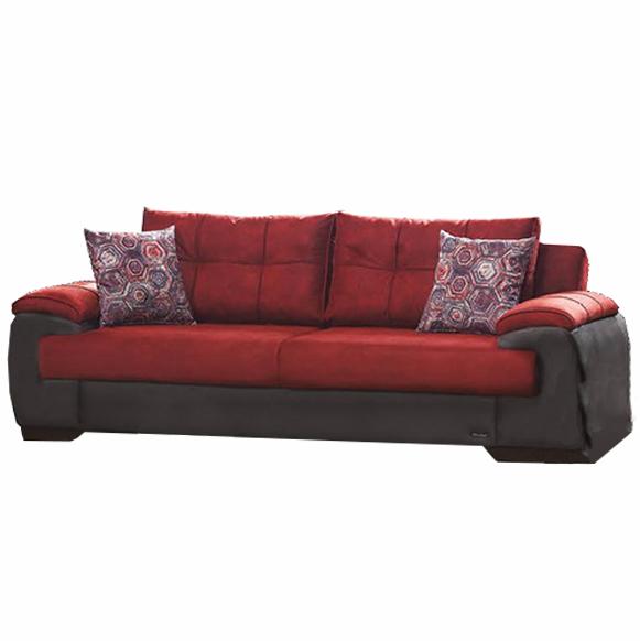 Canapea extensibila 3 locuri Stone Red K1