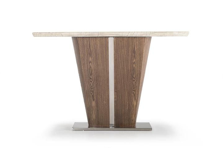 Consola din lemn si marmura Stonewood l125xA40xH805 cm