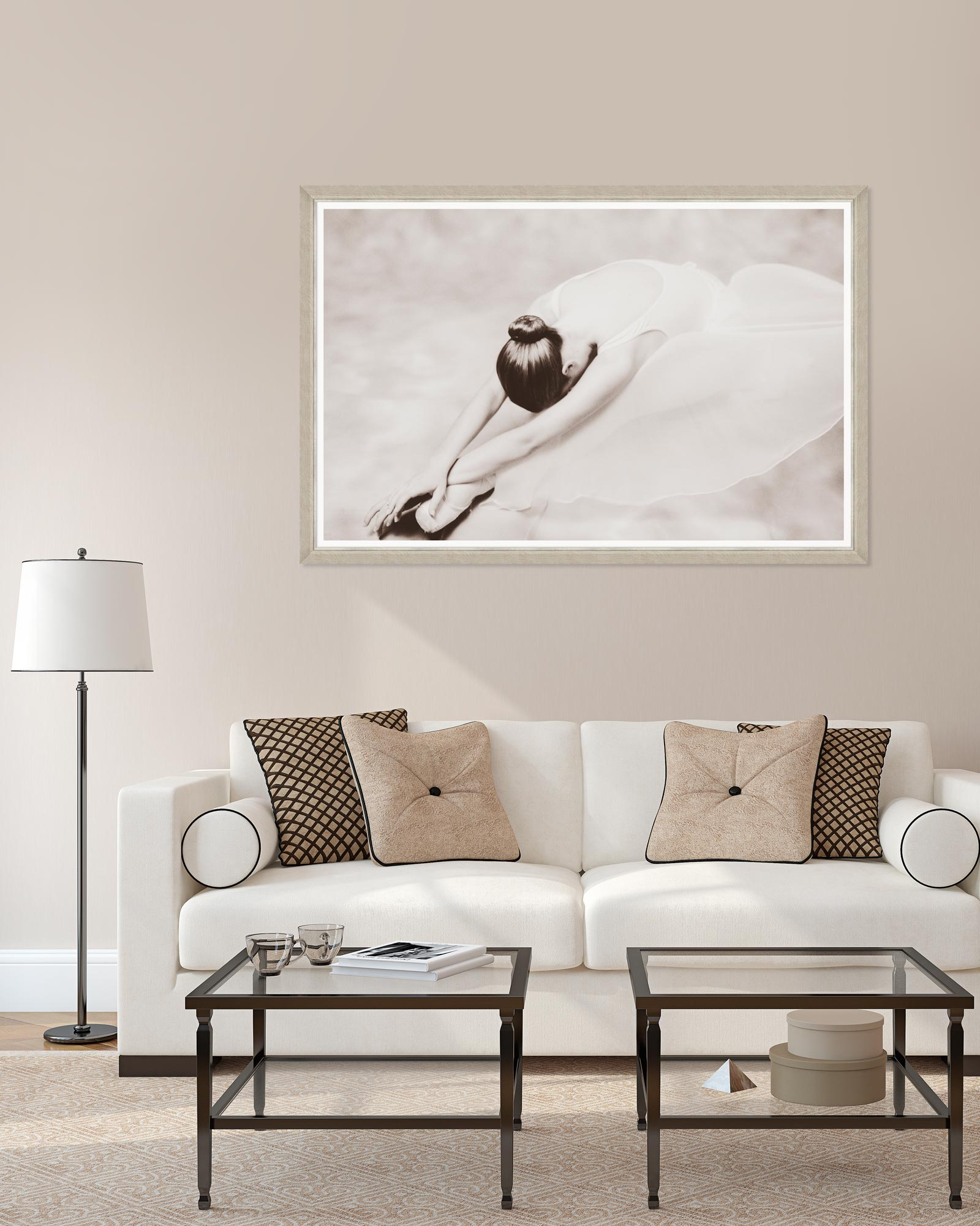 Tablou Framed Art Stretching Dancer