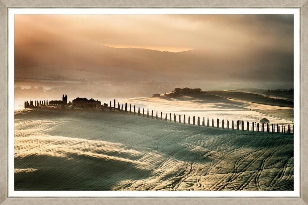 Tablou Framed Art Sunset In Tuscany