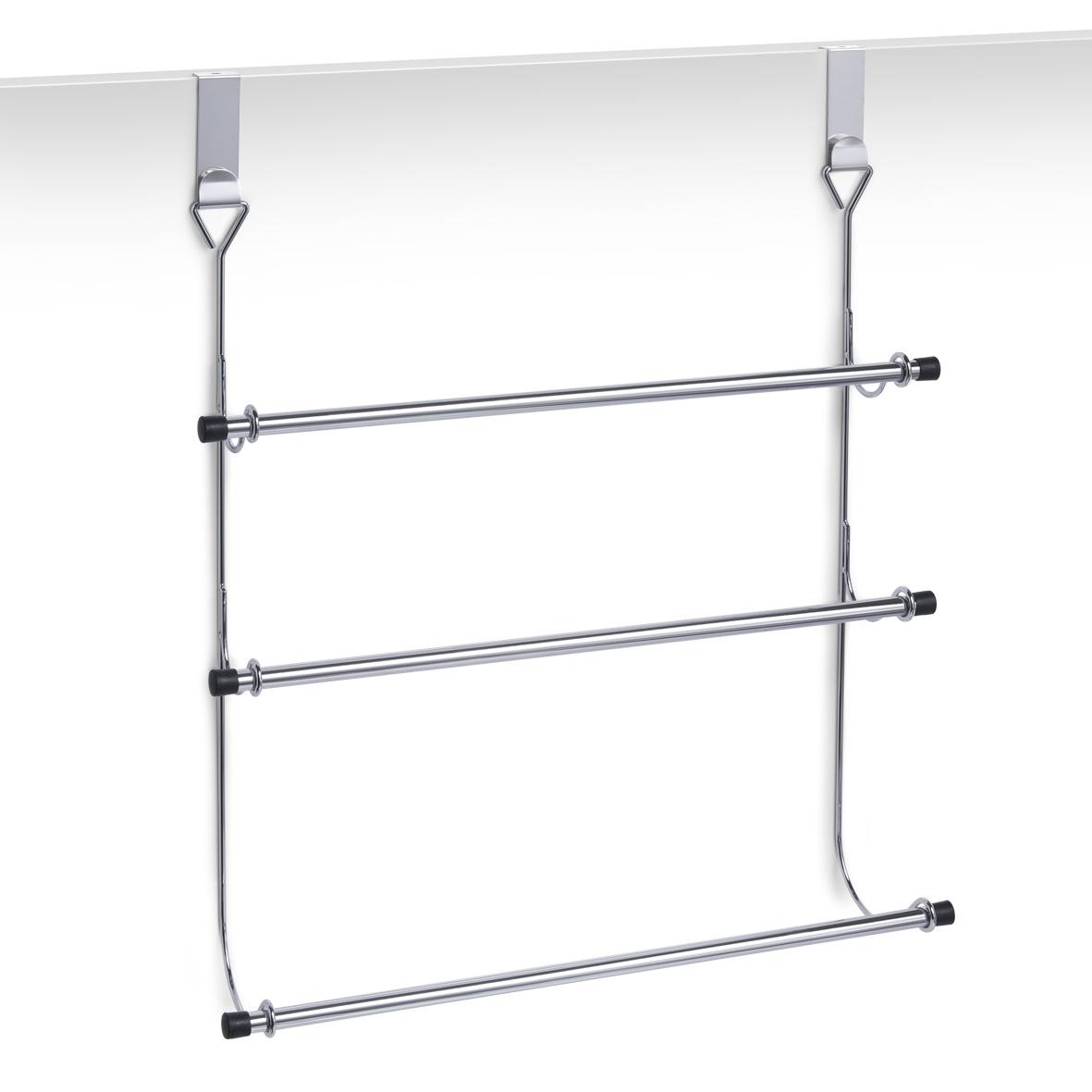 Suport de usa pentru prosoape, Stand Metal cromat, l47,5xH56 cm