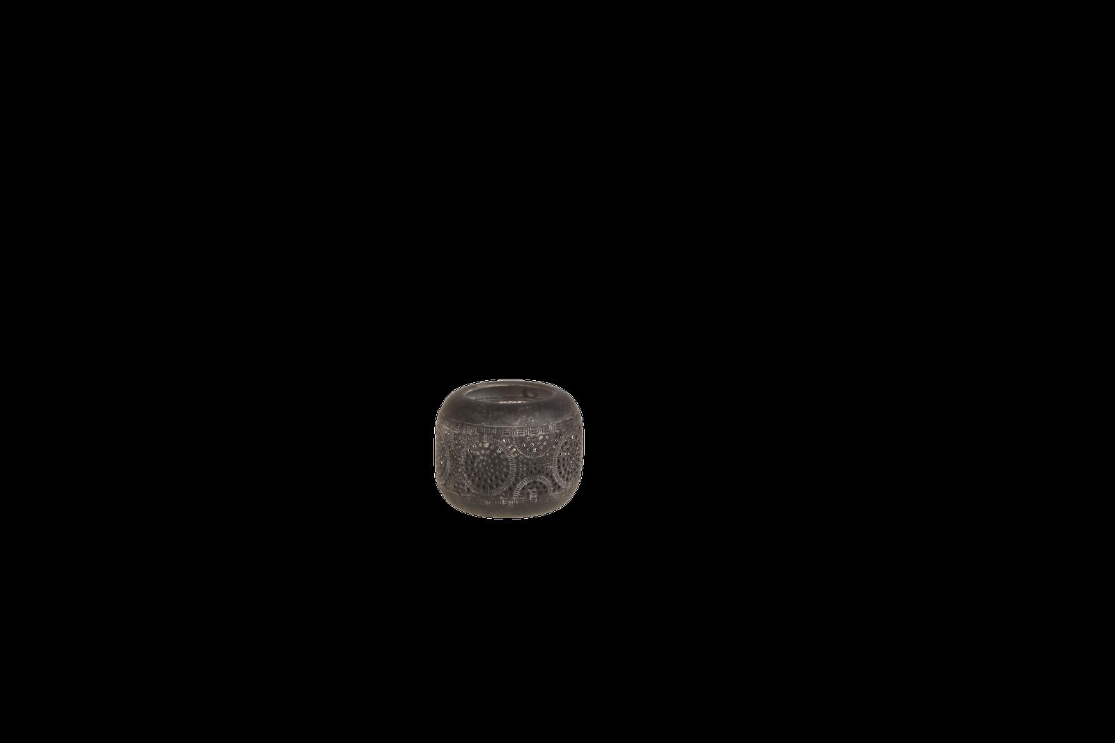 Suport lumanare Atmosphere Black O9xH75 cm