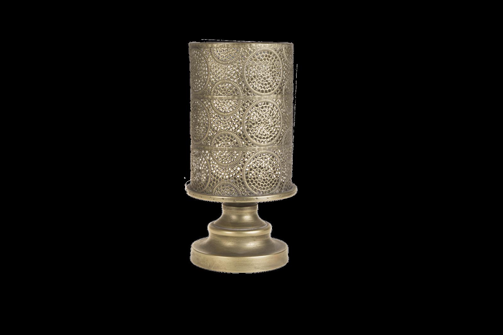 Suport lumanare Atmosphere Gold Antique O175xH325 cm