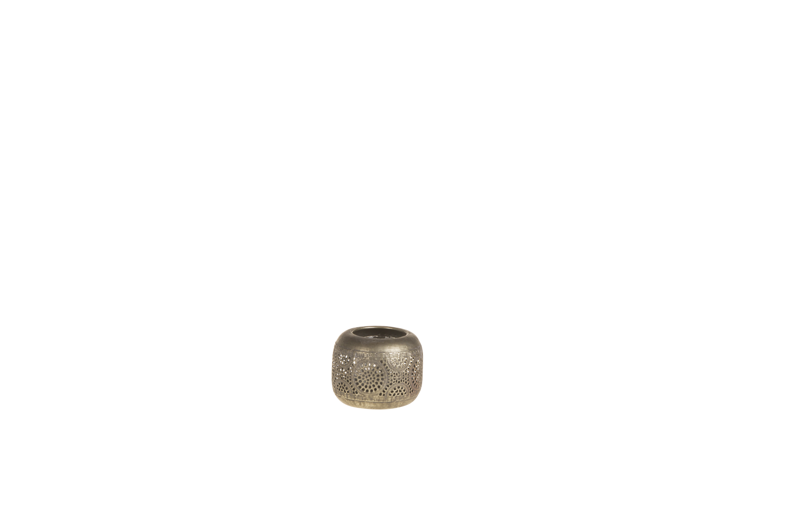Suport lumanare Atmosphere Gold Antique O9xH75 cm