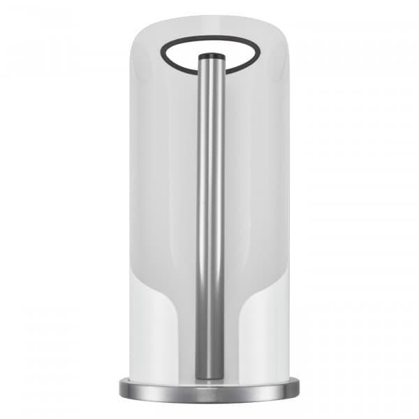 Suport metalic cu maner pentru role de bucatarie, Paper HolderAlb, Ø15,6xH35,2 cm imagine