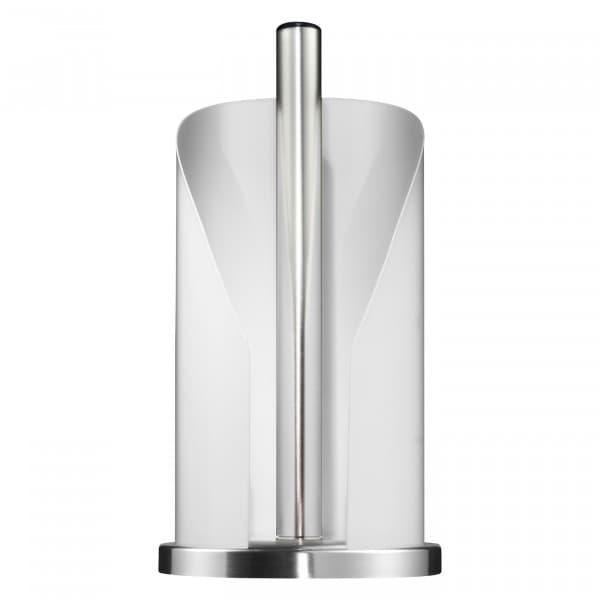 Suport metalic pentru role de bucatarie Paper Holder Alb, Ø15,5xH30 cm poza