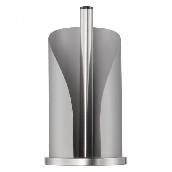 Suport metalic pentru role de bucatarie Paper Holder Gri Mat, Ø15,5xH30 cm poza
