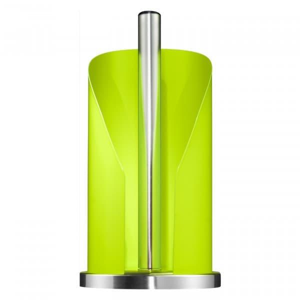 Suport metalic pentru role de bucatarie Paper Holder Lime, Ø15,5xH30 cm imagine