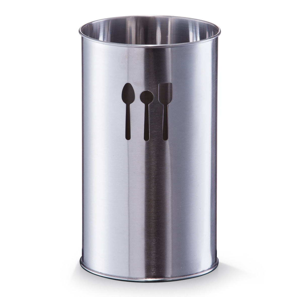 Suport metalic pentru ustensile de bucatarie Silver Crom, Ø10xH18,5 cm imagine