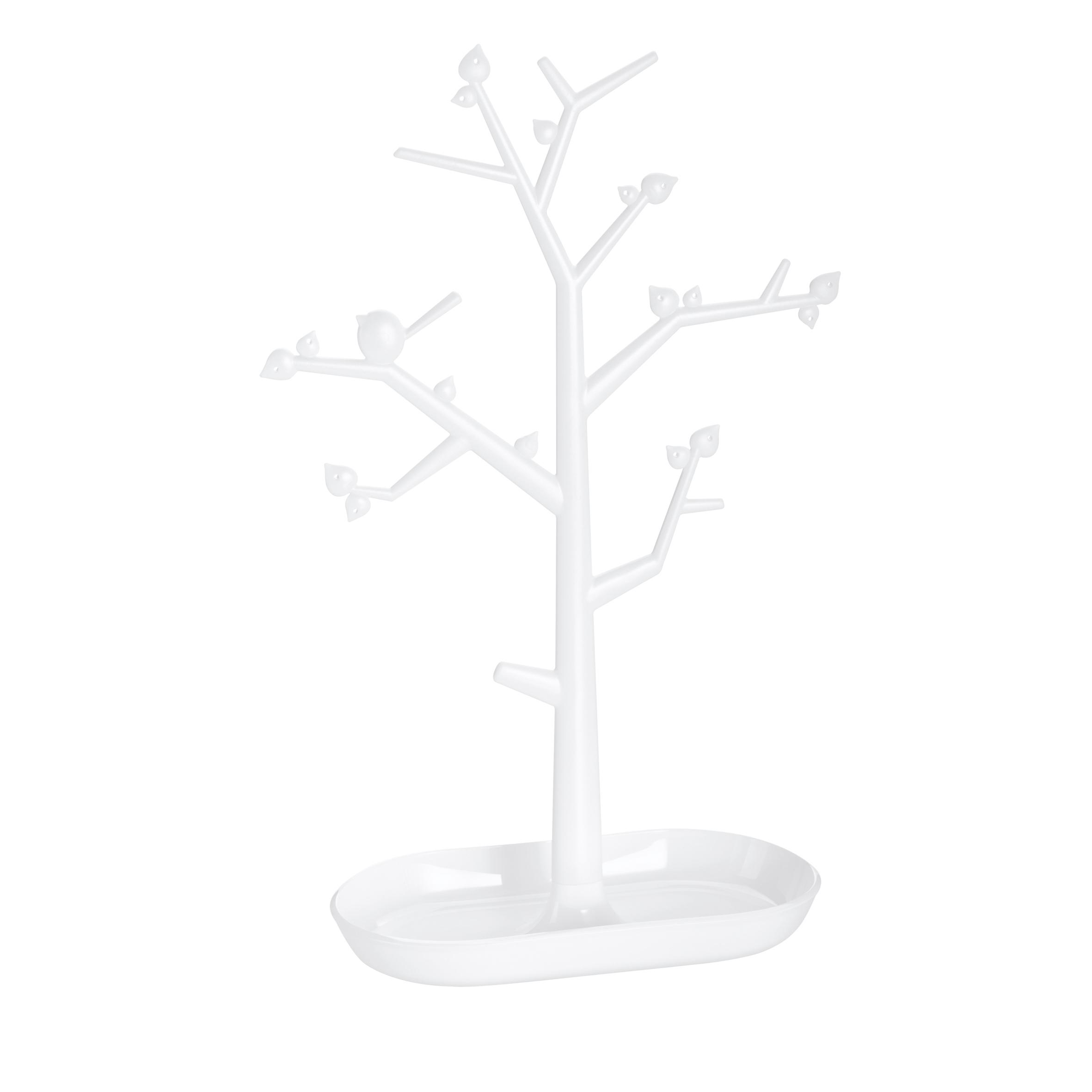 Suport pentru bijuterii din termoplastic Trinket Tree II Alb, l27,6xA12,8xH43,8 cm imagine