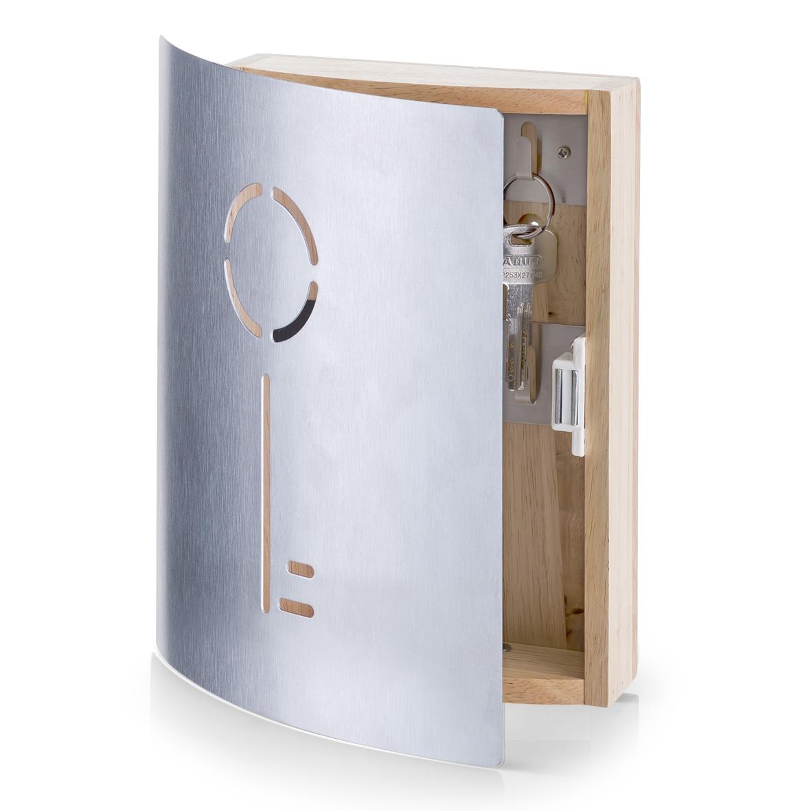 Suport pentru chei Rubber Silver Wood l215xA55xH245 cm