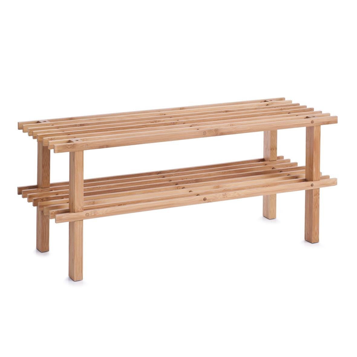 Suport pentru incaltaminte Stand Natural Bamboo l70xA26xH30 cm