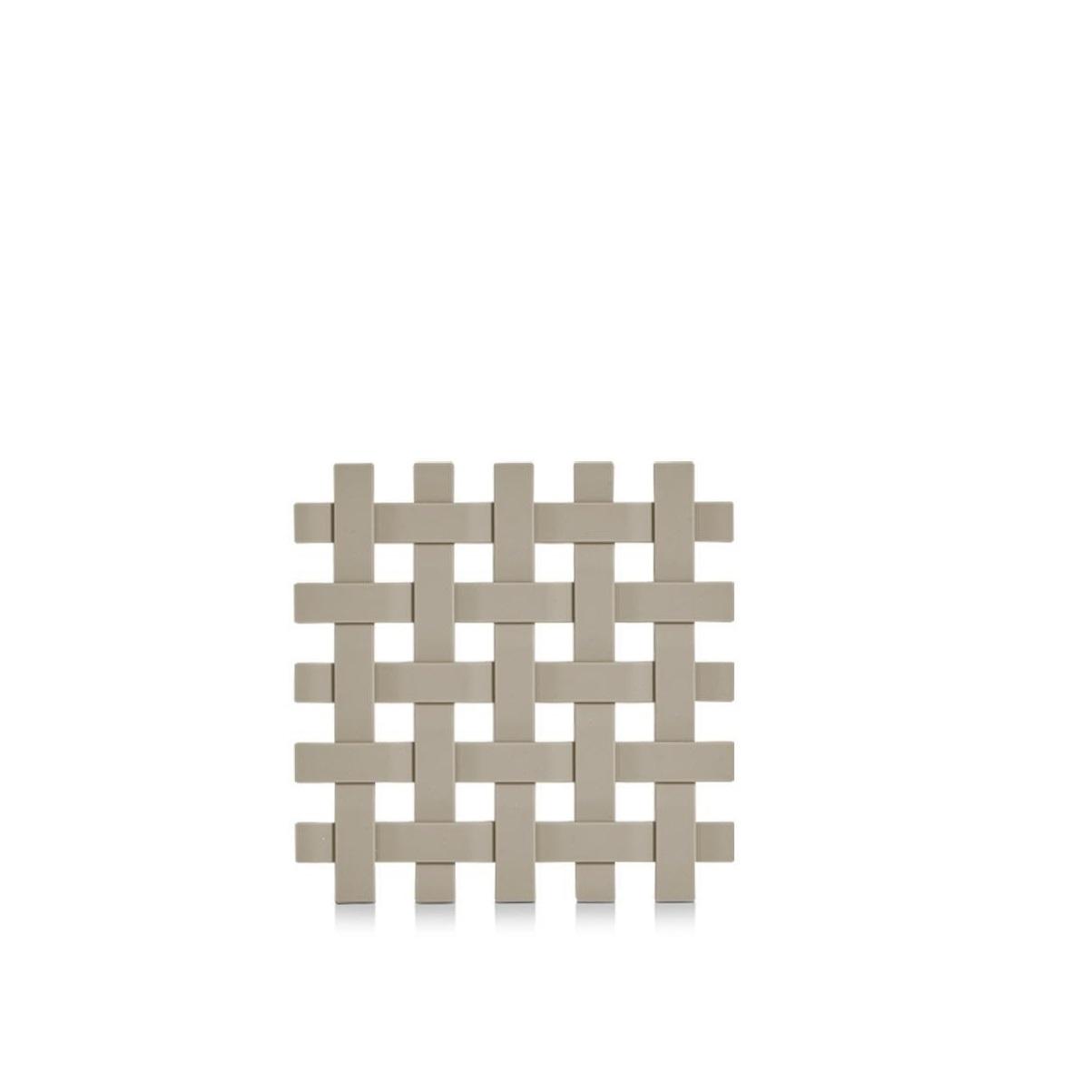 Suport pentru vesela, din plastic Trivet Grej, L17,2xl17,2 cm imagine