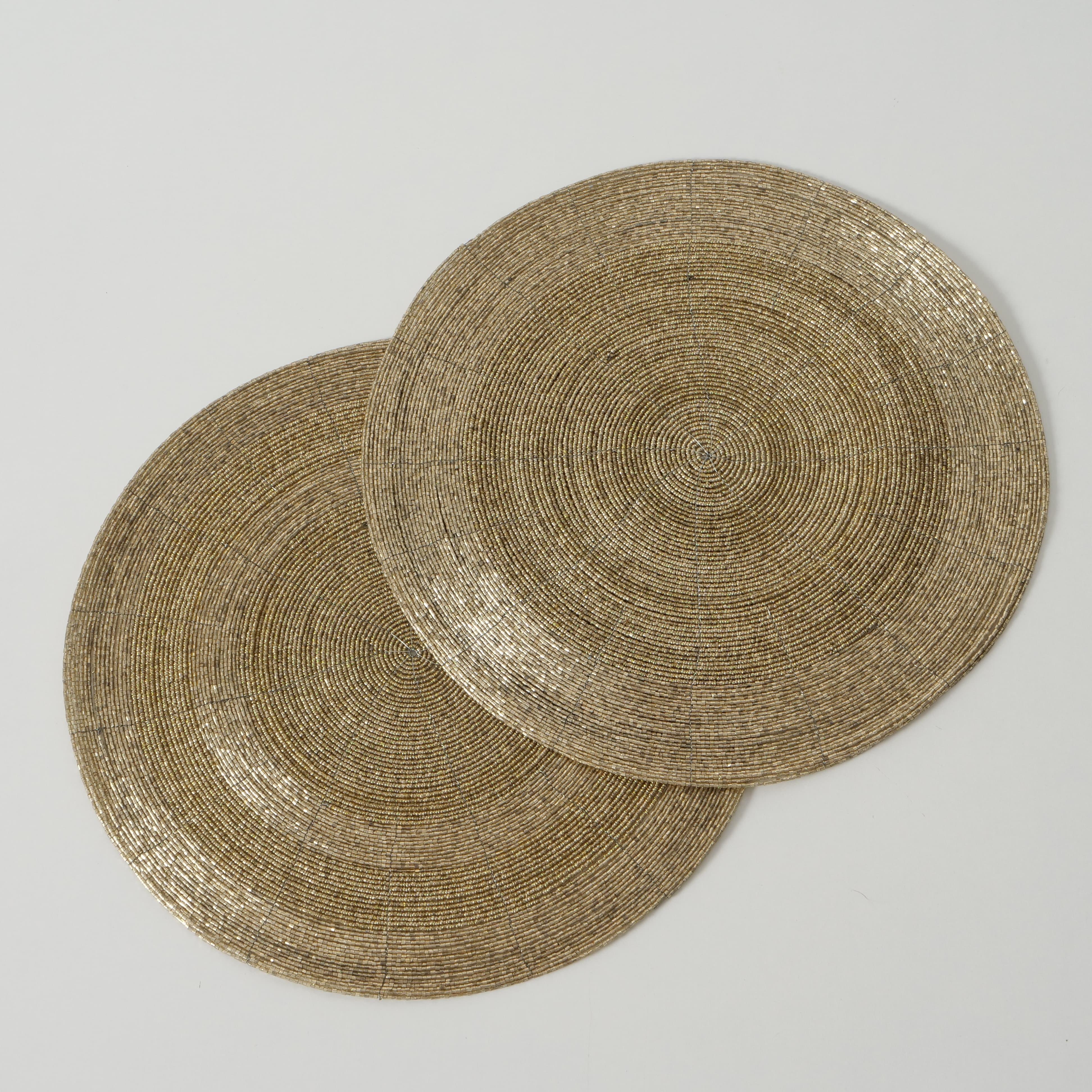 Suport vesela din metal si sticla Goldy Auriu, Modele Asortate, Ø35 cm poza