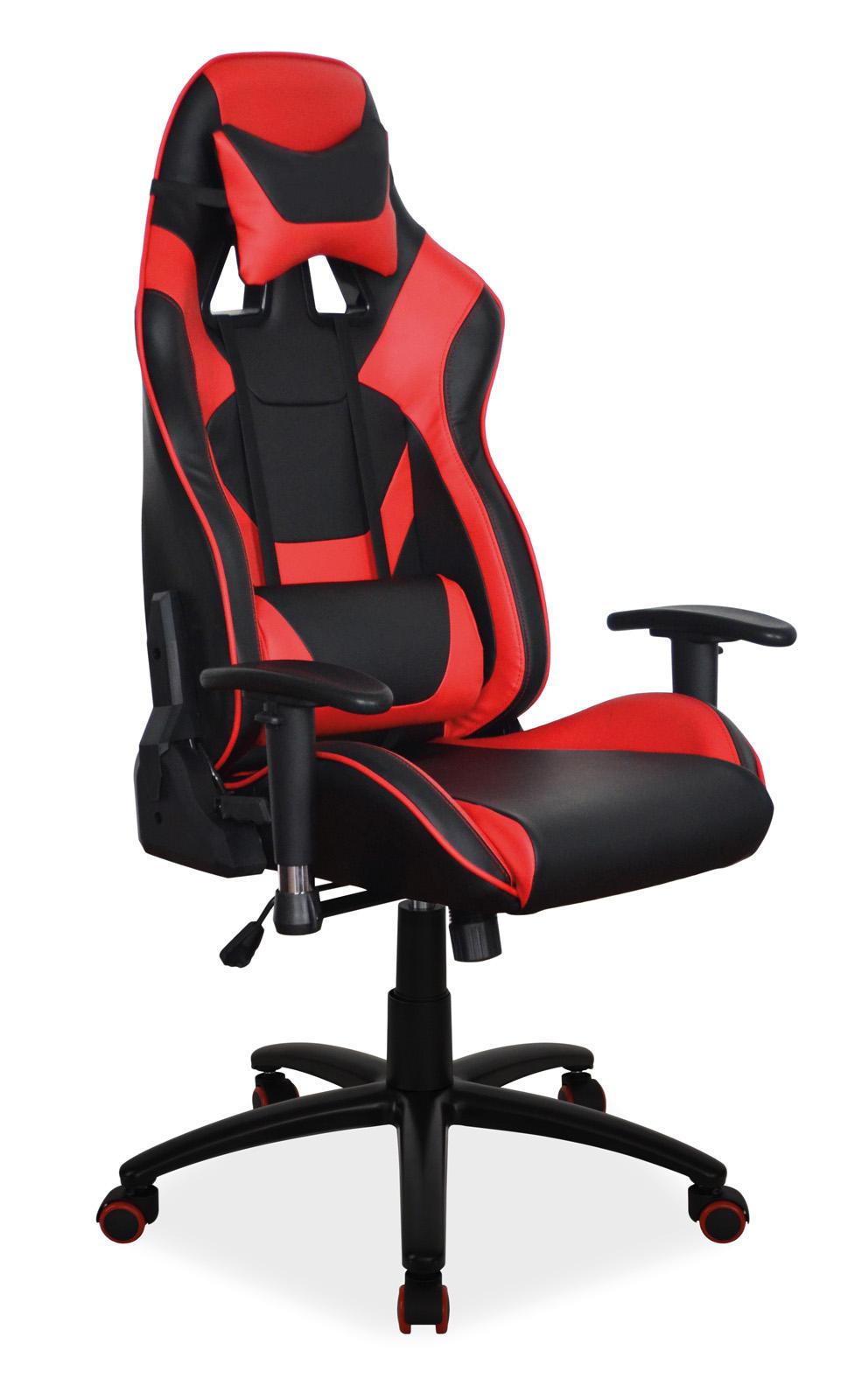 Scaun de birou ergonomic Supra Black / Red