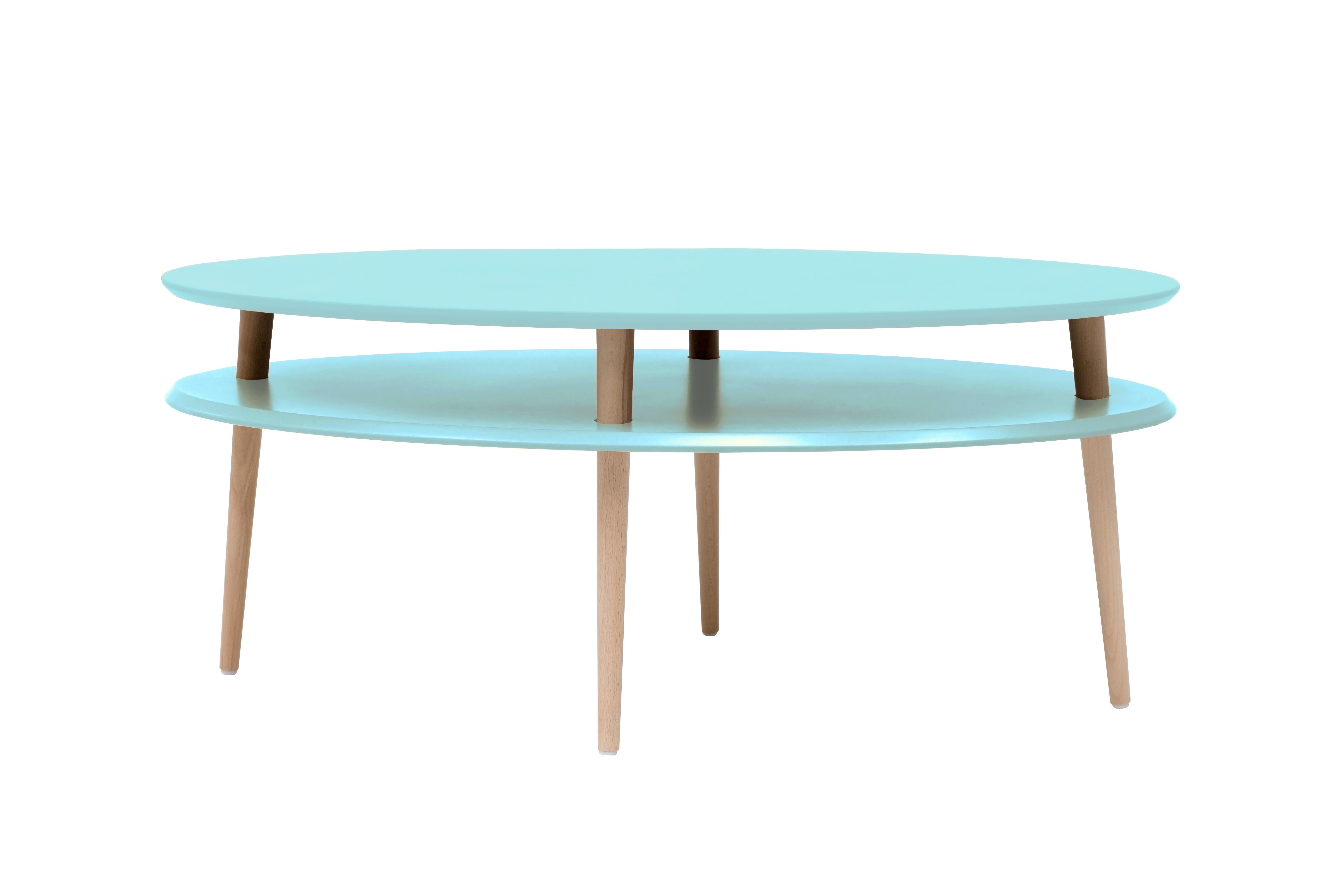Masa de cafea Ovo Light Turquoise, L110xl70xh45 cm din categoria Mese