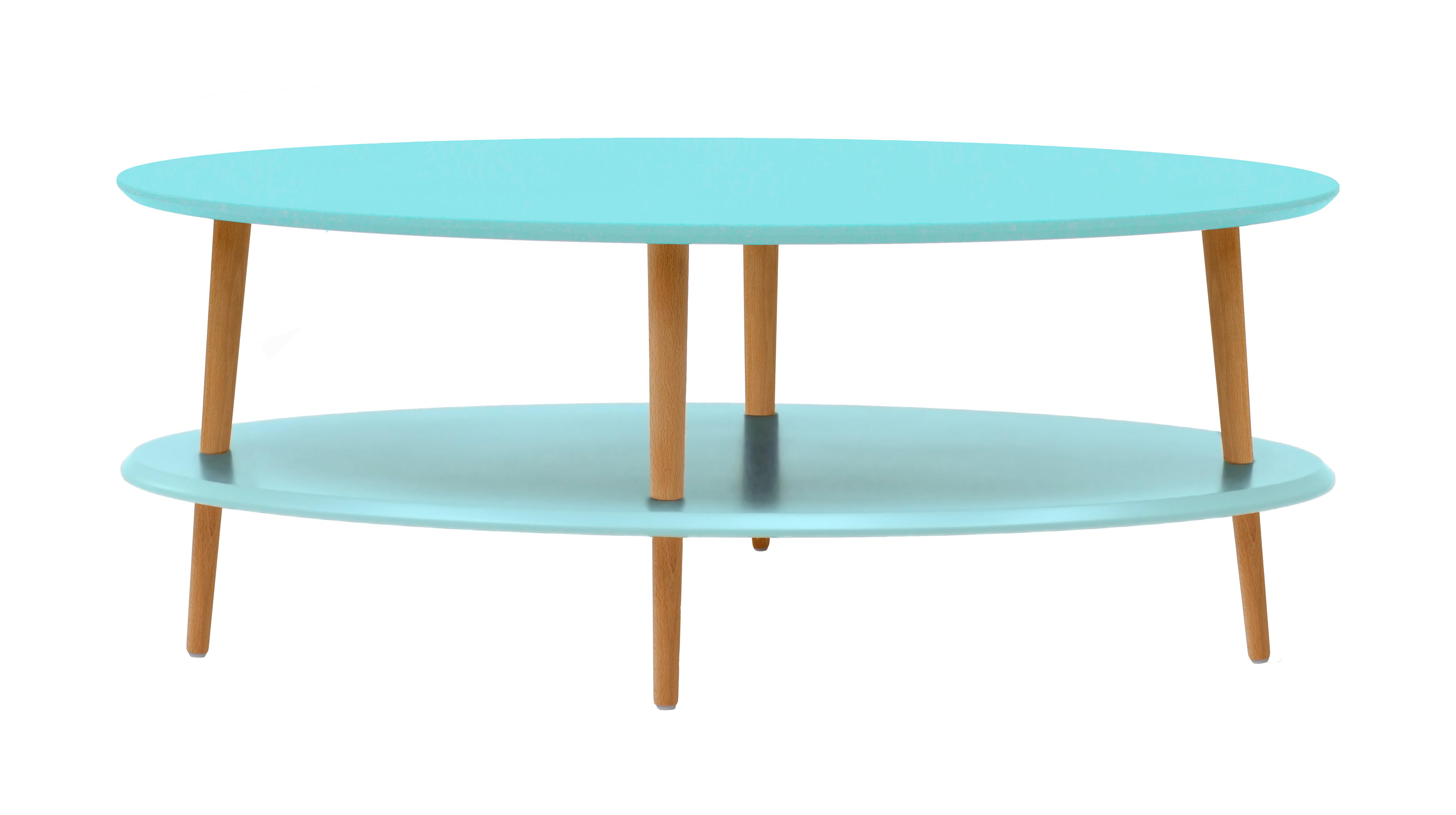 Masa de cafea Ovo Light Turquoise Low L110xl70xh45 cm