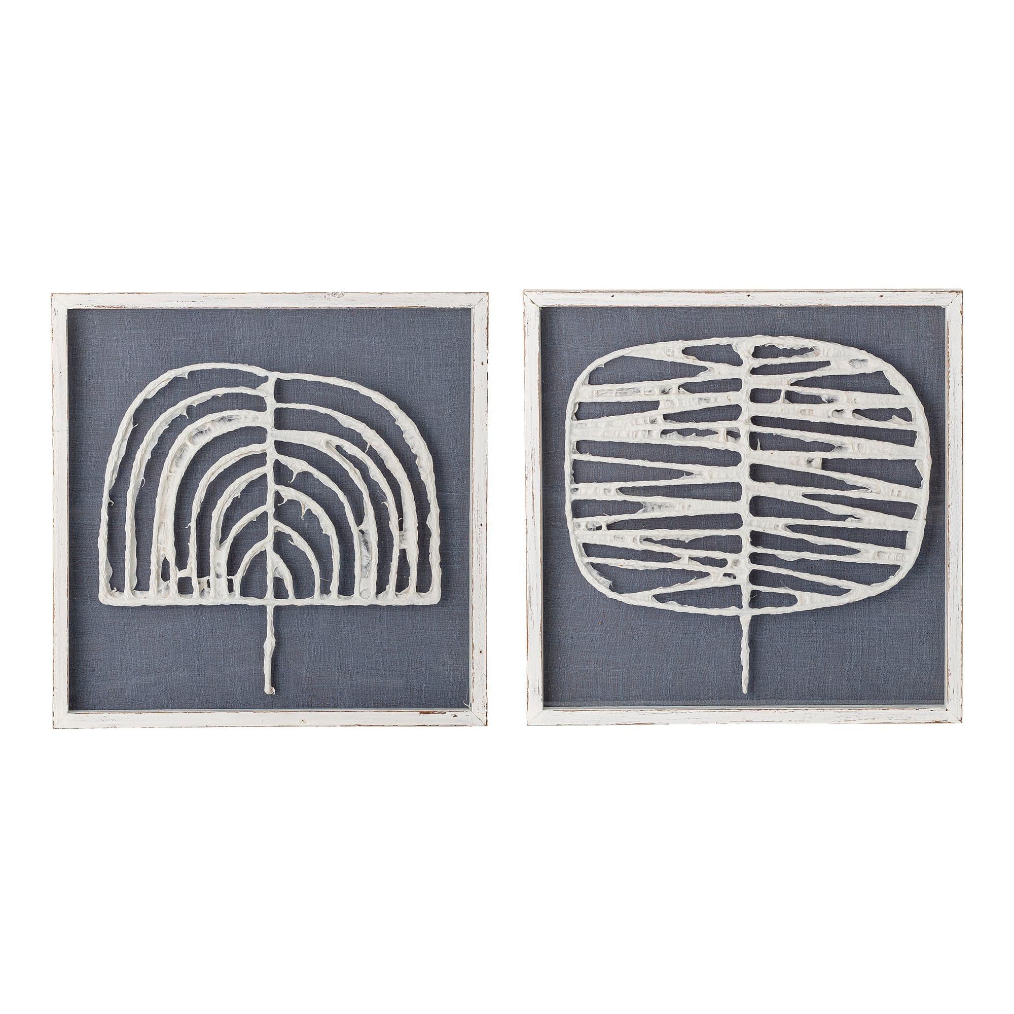Tablou 2 piese Abia Frame, 42 x 42 cm imagine