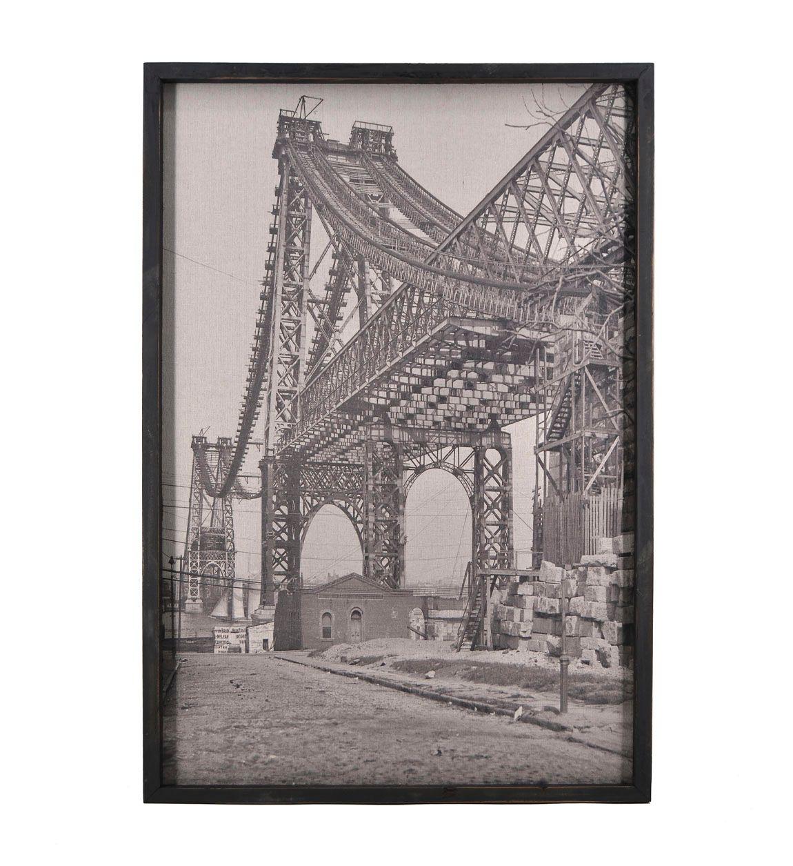 Tablou Canvas Bridge, 62 x 92 cm imagine