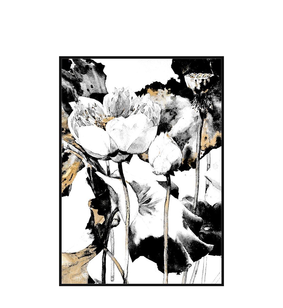 Tablou Canvas Creta Two Flowers, 80 x 120 cm imagine