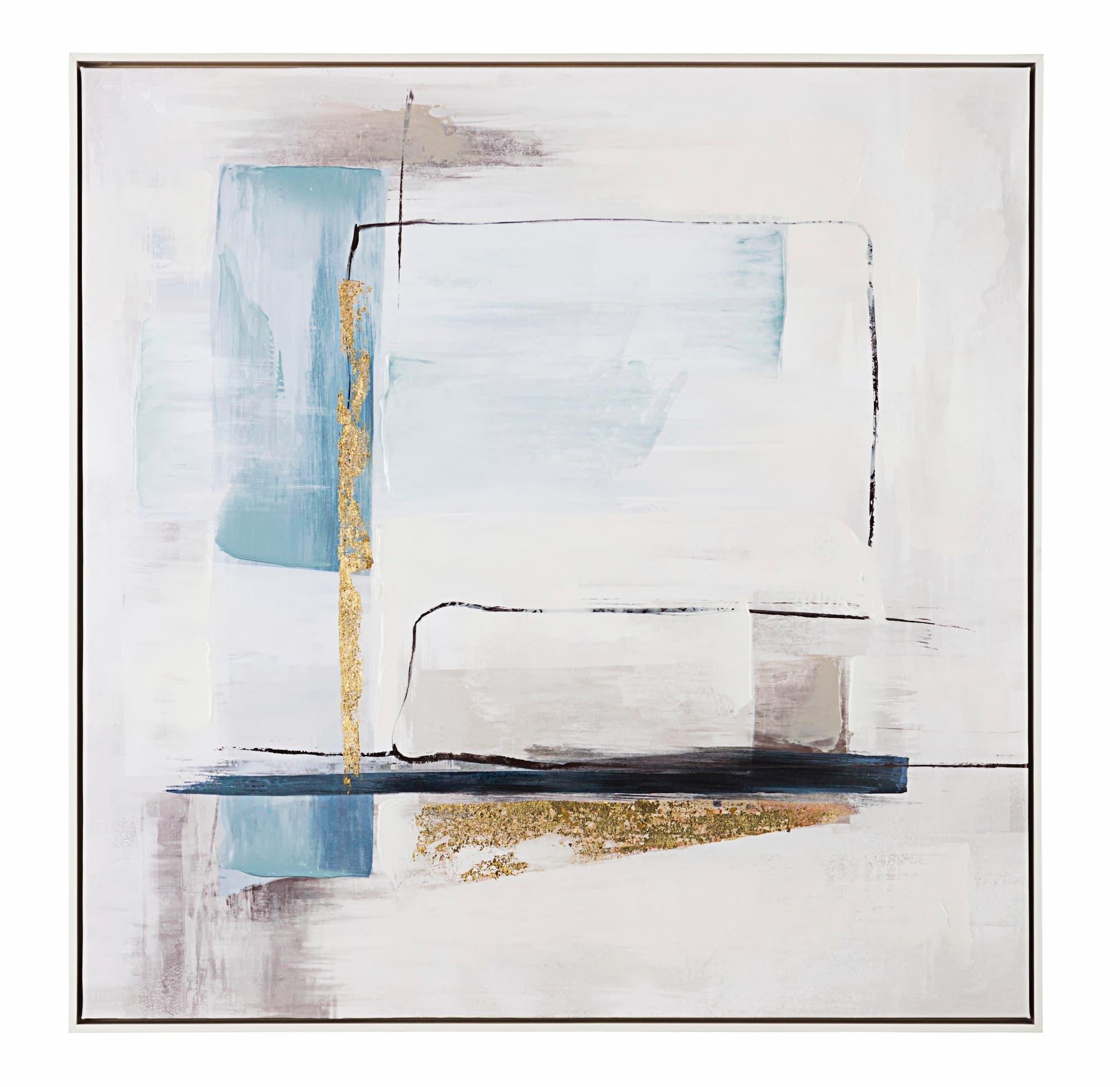 Tablou Canvas Crown P2379-4, 82,5 x 82,5 cm imagine