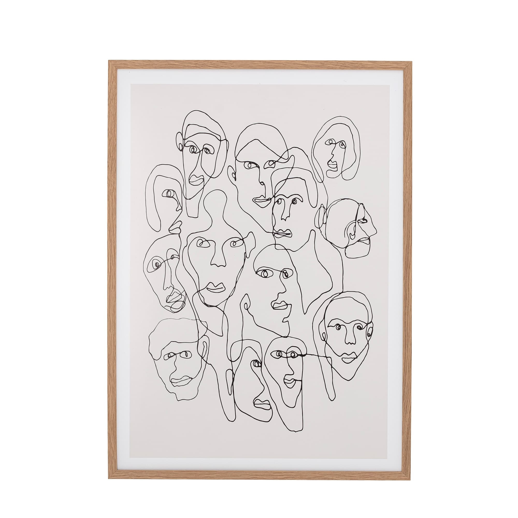 Tablou Chichi Natural, 52 x 72 cm poza