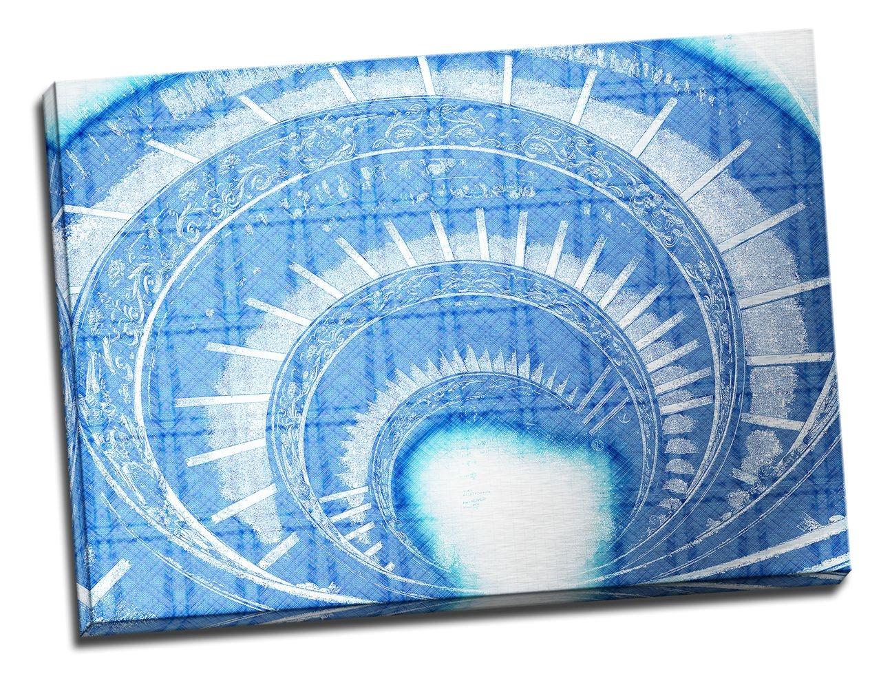 Tablou din aluminiu striat Spiral in Time