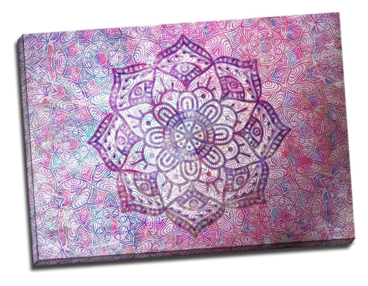 Tablou din aluminiu striat World in a Flower