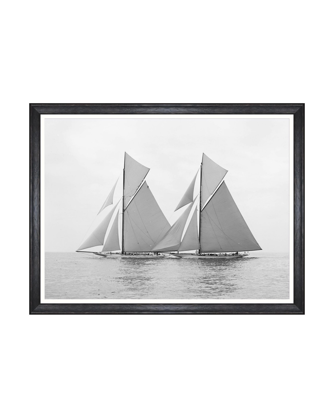 Tablou Framed Art America's Cup - Reliance And Shamrock 1903, 80 x 60 cm imagine