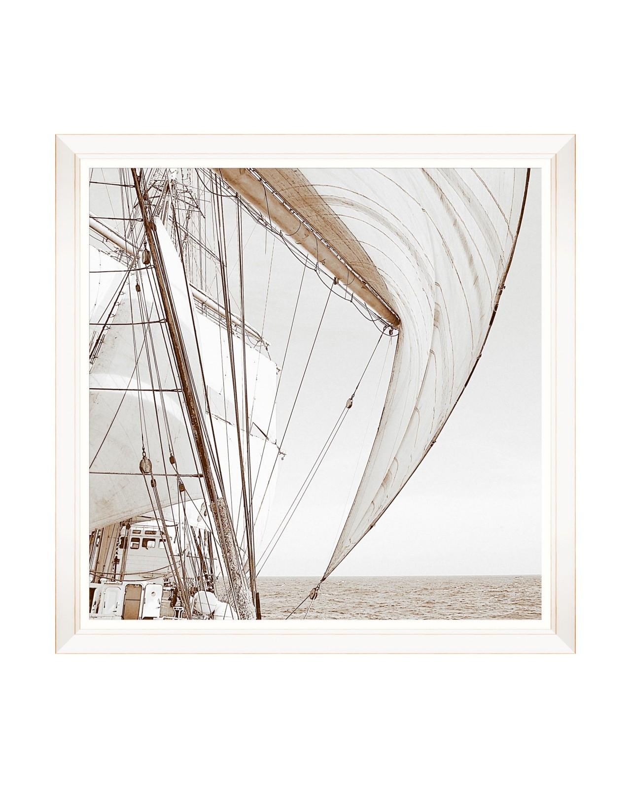 Tablou Framed Art Sailing High I, 80 x 80 cm imagine
