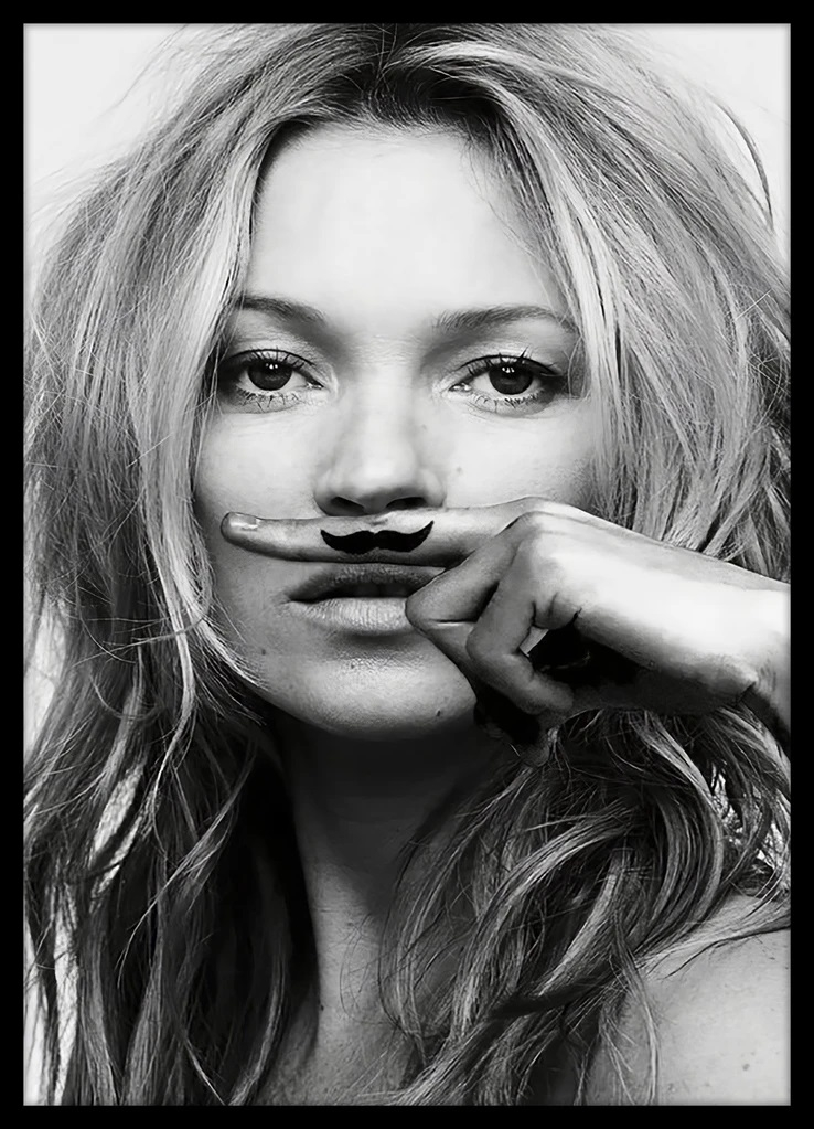 Tablou Poster Iconic Collection Kate Moss 5, 50 x 70 cm
