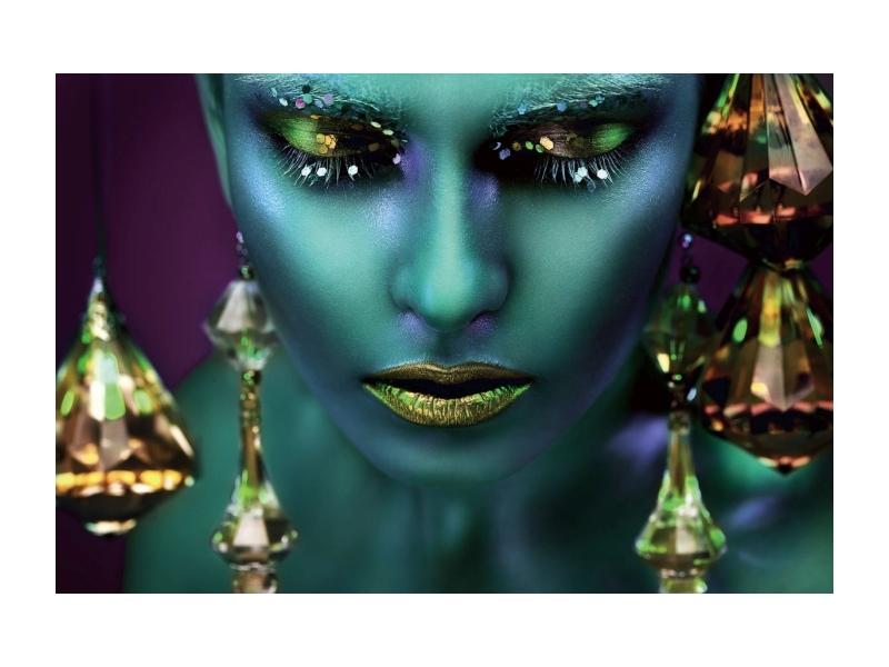 Tablou Sticla Avatar, 120 x 80 cm imagine