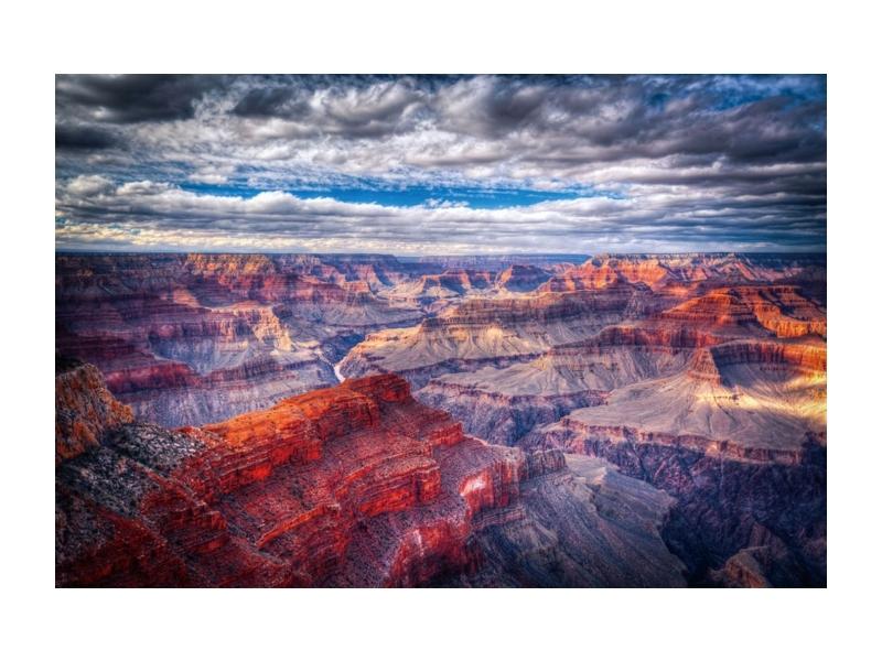 Tablou Sticla Canyon
