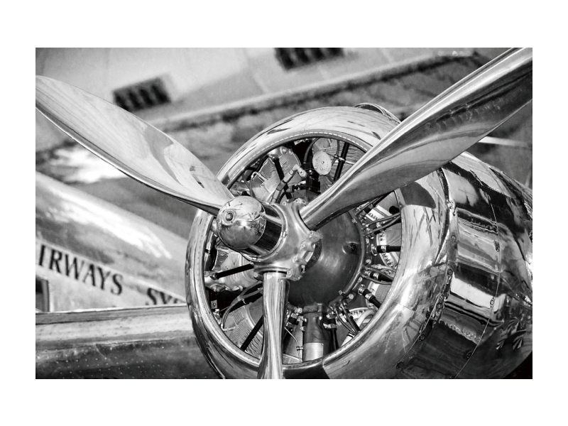 Tablou Sticla Engine, 120 x 80 cm poza