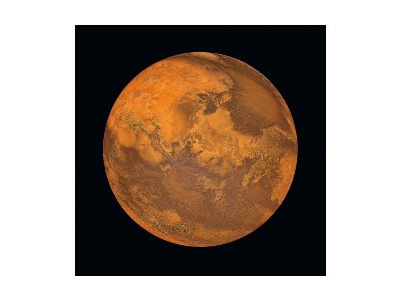 Tablou Sticla Mars, 80 x 80 cm imagine
