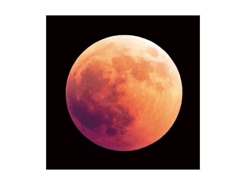 Tablou Sticla Moon, 80 x 80 cm poza