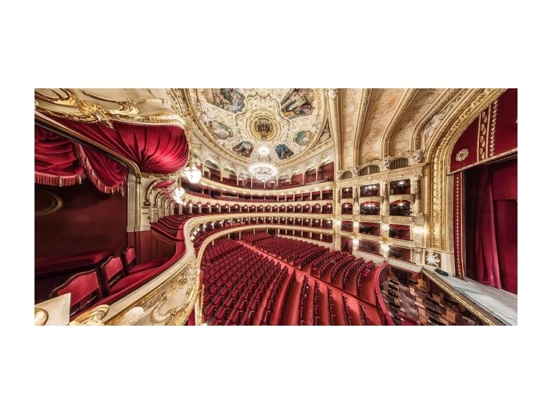Tablou Sticla Opera, 140 x 70 cm imagine