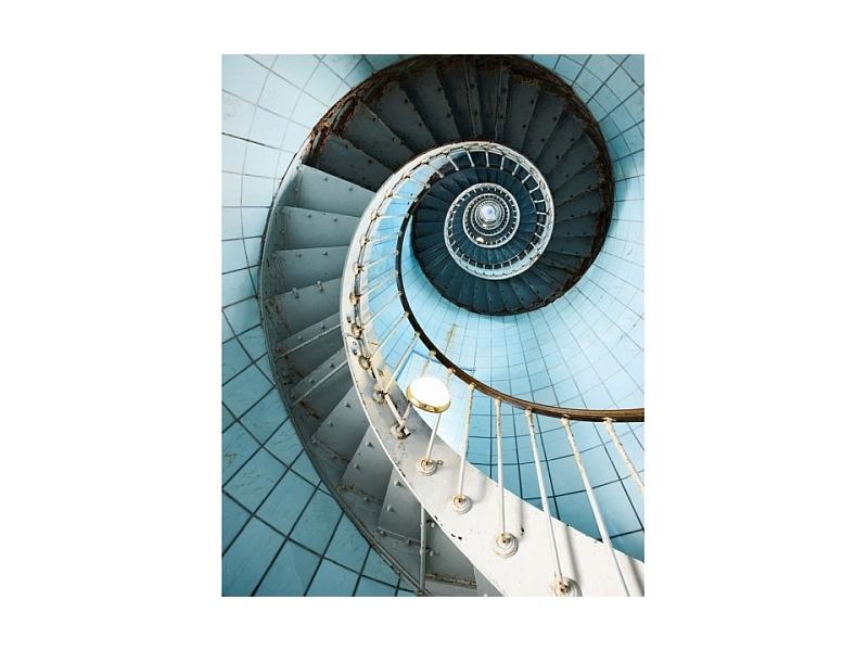 Tablou Sticla Stairs II, 80 x 120 cm